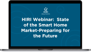 Webinar State of the Smart Home Market Laptop Icon