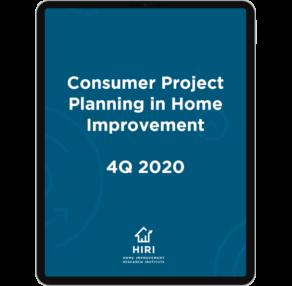 Consumer Proj Planning 4 Q2020