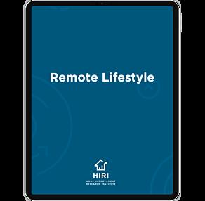 Remote lifestyle